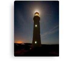Cape Nelson Lighthouse Halo Canvas Print