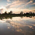 Lagoon Reflections by GayeL Art