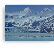 Glacier Bay, Juneau, ALASKA,  Canvas Print