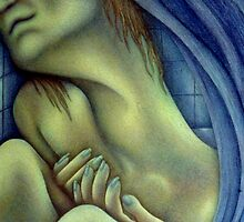 Blue Madonna by . MorrisoN .