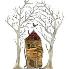 Little house under the trees by Madzia Bryll
