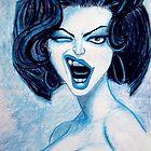Vampire chica. by brandonsart