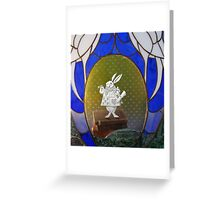 The White Rabbit before the Trial Greeting Card