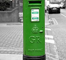 Postbox, Dublin by LisaRoberts