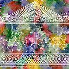 Rainbow Carousel by Madzia Bryll