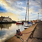 Eyemouth Harbour - Berwickshire, Scottish Borders by David Lewins