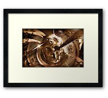 Last Machine Framed Print