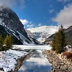 Lake Louise and Victoria Glacier by Lauren Banks