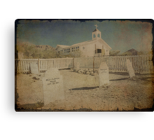 Where Old Gunslingers Go to Die Canvas Print