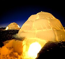 Arctic hut by abbagrabba