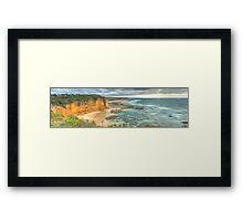 Great Ocean Road: Eagle Rock Framed Print