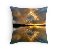 Through The Looking Glass - Narrabeen Lakes - The HDR Experience Throw Pillow