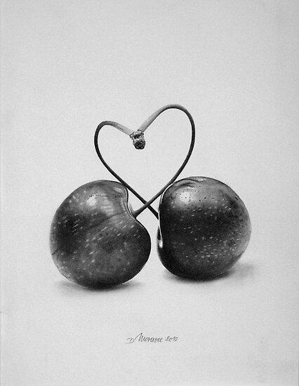 Cherries in Love by Dietrich Moravec