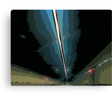 GF freeway tunnel Canvas Print