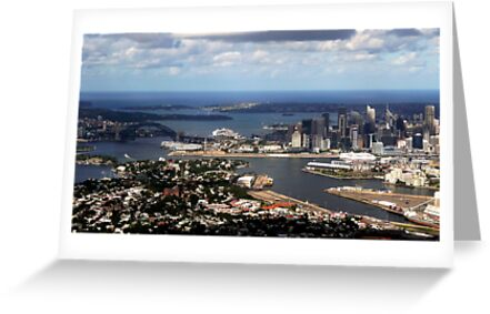 Perfect aerial approach to Sydney by Julie Sleeman