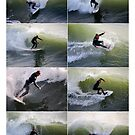 California Surfers Collage by Catherine Sherman