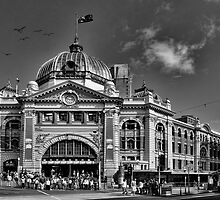 Flinders Street Station - Melbourne by Jason Pang, FAPS FADPA