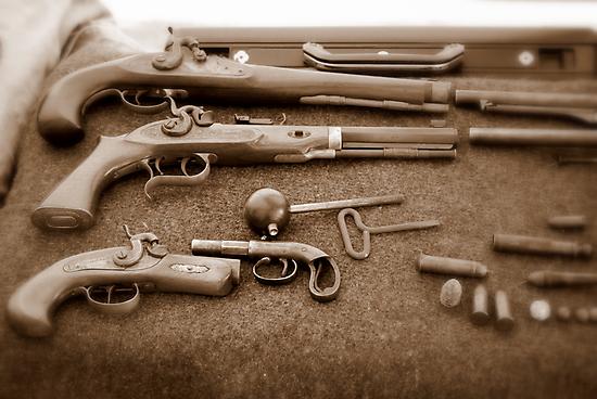 Civil War Guns by Sunshinesmile83