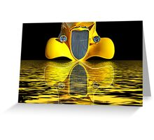 They Call Me Mellow Yellow Greeting Card