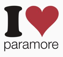 i love paramore by i like my music LOUD