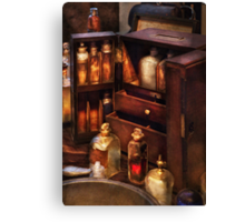 Doctor - The medicine cabinet Canvas Print