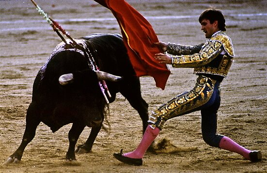 Bullfighting−3、SPAIN by yoshiaki nagashima