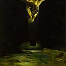 Salvador Dali....Christ of St John of the Cross by tim norman