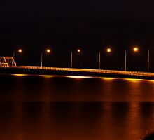 Bridge over Lake Mulwala by Gursel Ali