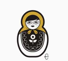 Russian Doll B by Bizarro Art