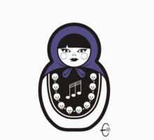 Russian Doll C by Bizarro Art