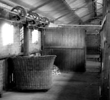 Shearing shed relics (East Loddon woolshed) by Julie Sleeman