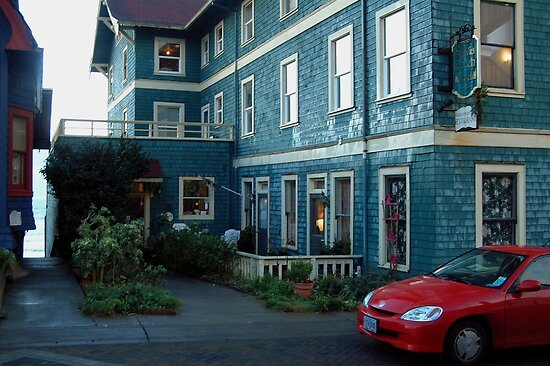Sylvia Beach Hotel ~ Newport, Oregon by Marjorie Wallace