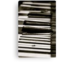 Dead Piano Canvas Print