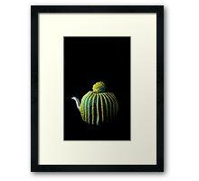Flowers in the Window - Tea Cosy II Framed Print