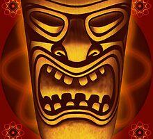 Atomic Tiki Logo by Mike Cressy