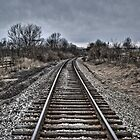 Down The Tracks - 3 by Eric Scott Birdwhistell