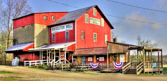 Bridgeton Mill Store by David Owens