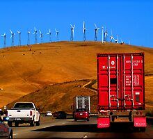 On The Way to the Wind Farm by Elizabeth Hoskinson