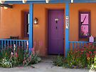 Purple Door by Lucinda Walter