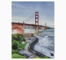 Overlooking the Golden Gate by misterken
