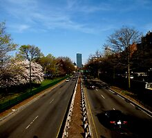 Storrow Drive Near Rush Hour by Alexandra Sollers