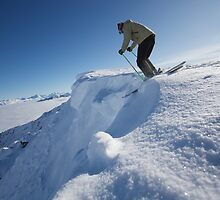 Dropping In - Kicking Horse by Adam Smith