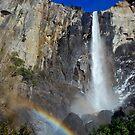 Bridal Veil Falls2-Yosemite National Park, Ca by Alan Brazzel