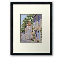 Pigeonnier, Montbron, France Framed Print