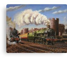 Welsh Coast Express Canvas Print