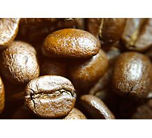 Beans, up close Photographic Print