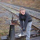 Portrait - Life on the rails  by Cory Beyersbergen