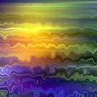 Ocean Sunset by AngelHoney