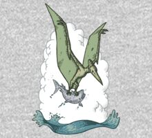 Green Pterodactyl by Kristel Mallet