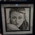 Drawing of Kiera Knightley by Jesi Marie Timpe